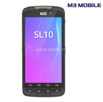 Terminal portabil M3 Mobile SL10K,2D,BT,Wi-Fi,4G,NFC,GPS,Android(SL1K4N-12CWES-HF)